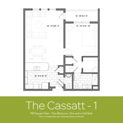 Cassatt floor plan 1