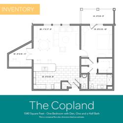 Copland floor plan