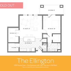 Ellington floor plan