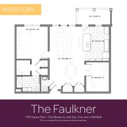 Faulkner floor plan