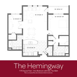 Hemingway floor plan