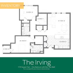Irving floor plan