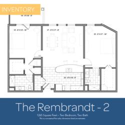Rembrandt floor plan