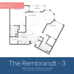 Rembrandt floor plan 3