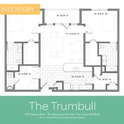 Trumbull floor plan