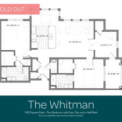 Whitman floor plan