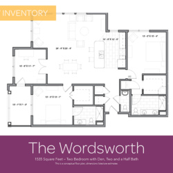 Wordsworth floor plan