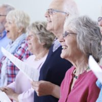Choir of older adults