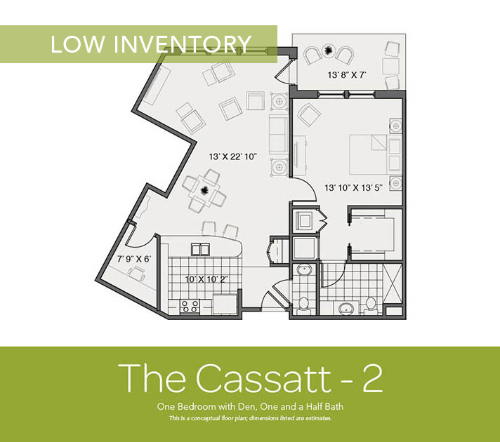 Floor Plans Available at The Vista in Wyckoff, New Jersey on