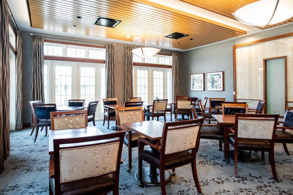 The Vista dining room