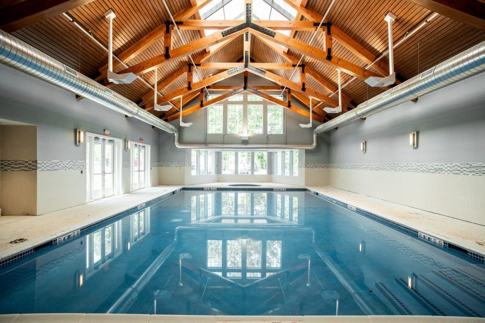 The Vista indoor swimming pool.
