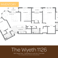 Wyeth floor plan 1126