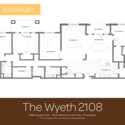 Wyeth floor plan 2108