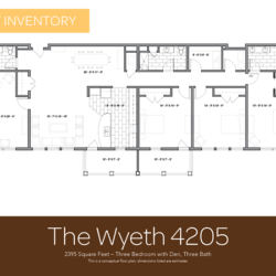 Wyeth floor plan 4205