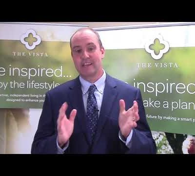 Welcome Patrick Duffy, Executive Director at The Vista